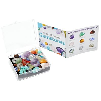 My Box of Tumbled Gemstones